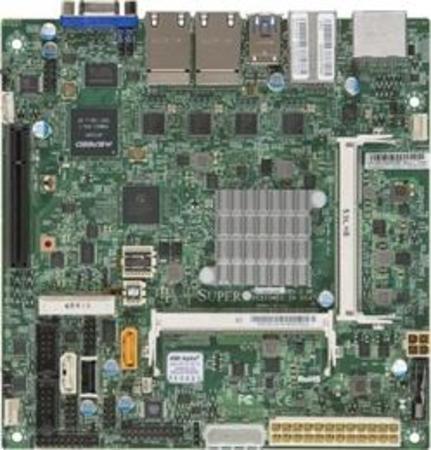 SUPERMICRO MB N3700 SoC, 2x ,SODIMM DDR3, 2x SATA3, PCIe 3.0 x1 in x8, IPMI , 4x LAN, audio, MBD-X11SBA-LN4F-O