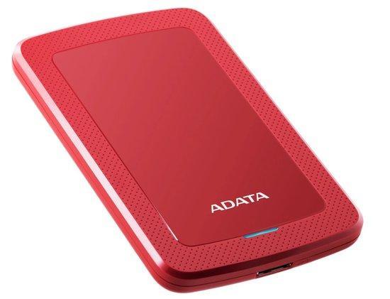 "HDD ext. 2,5"" ADATA HV300 1TB - červený, AHV300-1TU31-CRD"