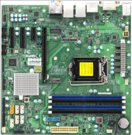 SUPERMICRO MB 1xLGA1151 (i7), Q170,DDR4,6xSATA3,PCIe 3.0 (1 x16, 2 x4, 1 x1),1x M.2,HDMI,DP,DVI,Audio