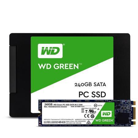 WD GREEN SSD WDS120G1G0B 120GB M.2, (R:540, W:430MB/s), WDS120G2G0B