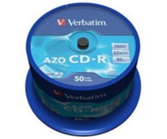 Verbatim CD-R 700MB 52x, spindle, 50ks (43343)