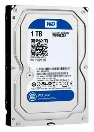 WD BLUE WD10EZEX 1TB SATA/600 64MB cache 7200 ot., WD10EZEX