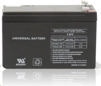EUROCASE baterie do UPS NP7-12, 12V, 7Ah (RBC2), NP7-12