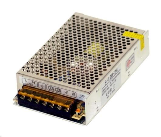 MikroTik průmyslový impulsní zdroj 24V, 5A, 120W, S-120-24