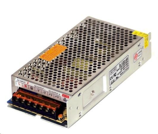 MikroTik průmyslový impulsní zdroj 48V, 2,5A, 120W, S-120-48