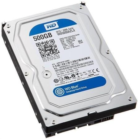 WD BLUE WD5000AZLX 500GB SATA/600 32MB cache 7200 ot., WD5000AZLX