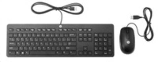 HP Slim USB Keyboard and Mouse T6T83AA#AKB, T6T83AA#AKB