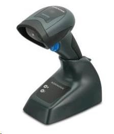 DataLogic bezdrátová čtečka QuickScan I QM2131, 1D snímač + základna, USB KIT, QM2131-BK-433K1