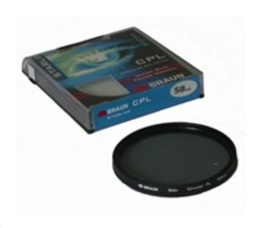 Braun filtr C-PL StarLine 62 mm