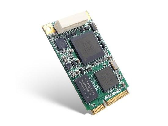 AVERMEDIA Dark Crystal HD Capture Mini-PCIe (C353), nahrávací/střihová karta, HDMI kabel, 61C353XX00AE