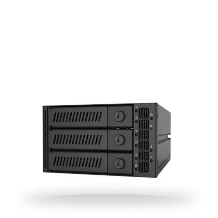 "CHIEFTEC CMR-2131SAS, 2x 5,25"" for 3x 3,5"" HDDs/SSDs"