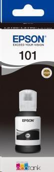EPSON EcoTank bottle 101, C13T03V14A, černá (black), 127 ml