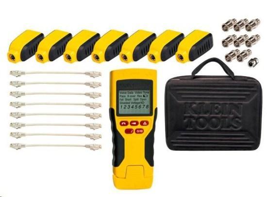KLEIN TOOLS - LAN TESTER - VDV Scout® Pro 2 LT Tester and Test-n-Map Remote Kit, VDV501-826