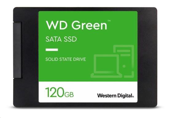 """WD GREEN SSD 3D NAND WDS120G2G0A 120GB SATA/600, (R:500, W:400MB/s), 2.5"""", WDS120G2G0A"""