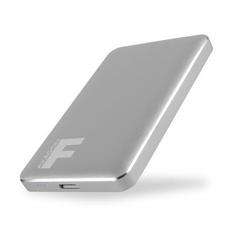 "AXAGON EE25-F6G USB3.0 - SATA 6G 2.5"" FULLMETAL externí box IRON GREY, EE25-F6G"
