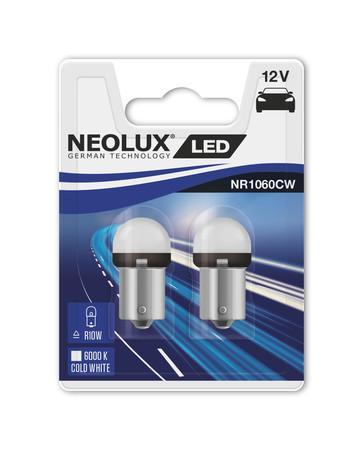 NEOLUX R10W RETROFIT 12V 1, 2W BA15s 6000K NR1060CW-02B