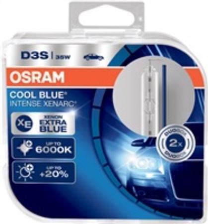 OSRAM D3S XENARC COOL BLUE INTENSE 1224V 35W / Xenonová výbojka / PK32d-5 / 6000K / živ.3000h / 2ks (66340CBI-HCB)