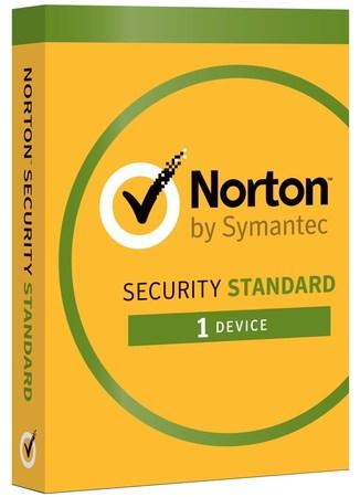 NORTON SECURITY STANDARD CZ 1 uživatel na 1 zařízení na 2 roky, 21384899