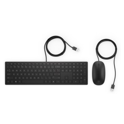 HP Pavilion Wired Keyboard and Mouse 400 4CE97AA#AKB, 4CE97AA#AKB