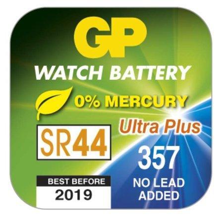 GP 357F Ultra Plus (SR44, 11.6 x 5.4 mm) - 10 ks