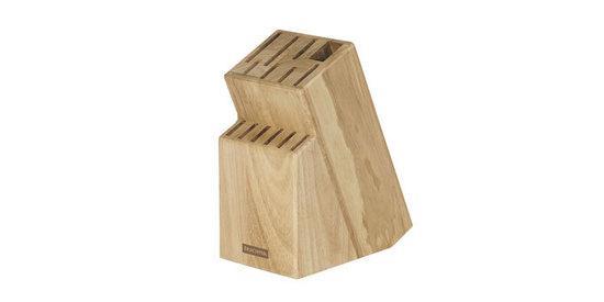 Blok - stojan WOODY pro 13 nožů a nůžky / ocílku Tescoma (869508)