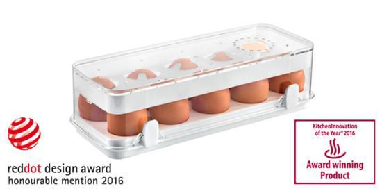 Tescoma zdravá dóza do ledničky Purity 28x11 cm 10 vajec