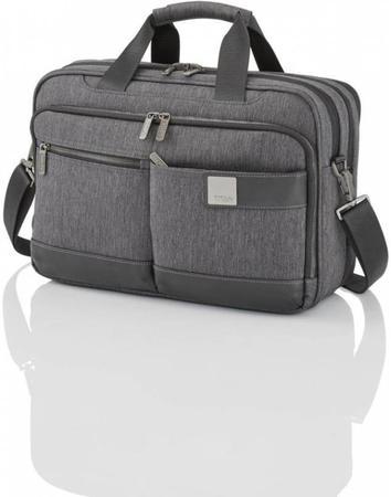 Titan Power Pack Laptop Bag L / Šedá