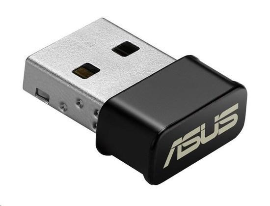 ASUS USB-AC53 nano Wireless AC1200 Dual-band USB Adapter, 90IG03P0-BM0R10