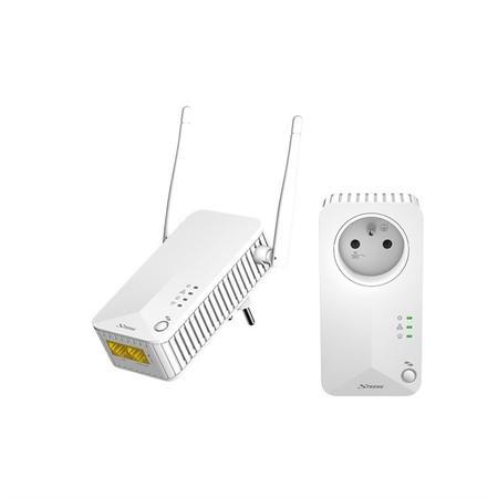 Síťový rozvod LAN po 230V Strong Powerline WF 500 DUO