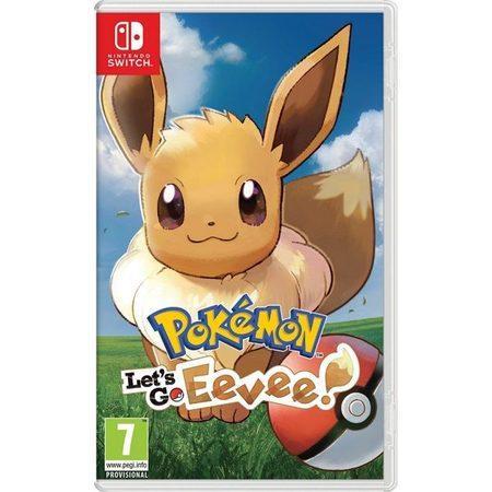SWITCH Pokémon Let`s Go Eevee!