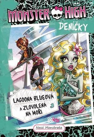 Monster High deníčky Lagoona Blueová - Monstrata Nessi