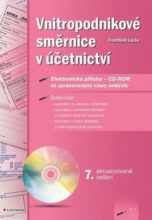 Vnitropodnikové směrnice v účetnictví - Louša František