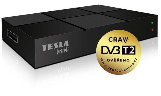 TESLA TE-380 mini, DVB-T2 přijímač, H.265 (HEVC), DVB-T2 ověřeno