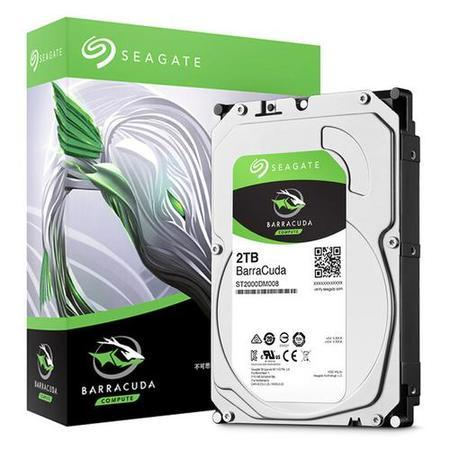 SEAGATE ST2000DM008 hdd 2TB BarraCuda SATA3-6Gbps 7200rpm cache 256MB 220MB/s