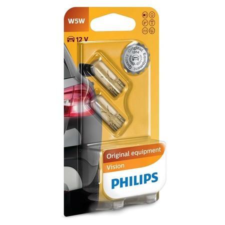 Philips Vision 12961B2 W5W W2,1x9,5d 12V 5W