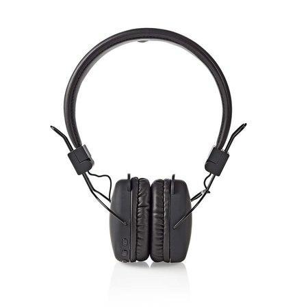 Nedis HPBT1100BK - Bezdrátová Sluchátka | Bluetooth® | On-ear | Skládací | Černá barva