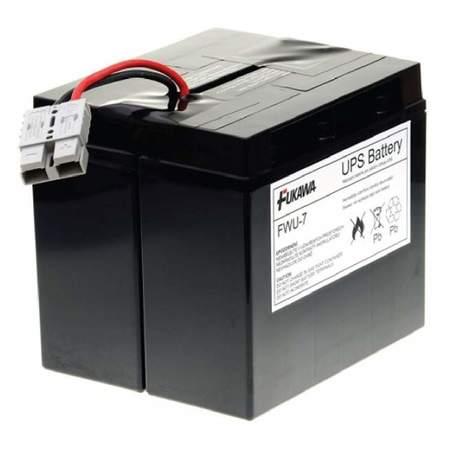 FUKAWA olověná baterie FWU-7 do UPS APC/ náhradní baterie za RBC7/ 24V/ 18Ah/ životnost 5 let, 12418