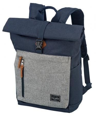 Travelite Basics Roll-up Backpack Modrá