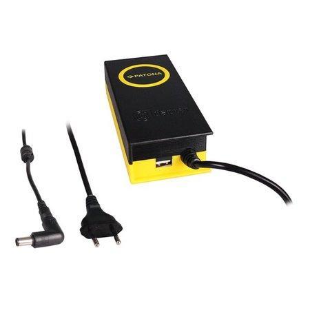 PATONA napájecí adaptér k ntb/ 19,5V/4,7A 90W/ konektor 7,4x5mm+PIN/ + výstup USB, PT2609