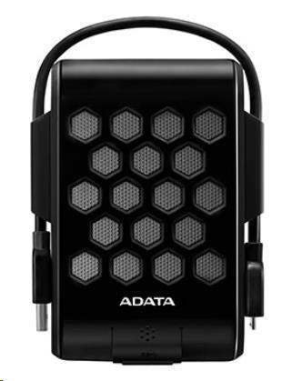 "ADATA Externí HDD 2TB 2,5"" USB 3.0, DashDrive™ Durable HD720, G-sensor, černý, (gumový, vodě/nárazu odolný), AHD720-2TU31-CBK"