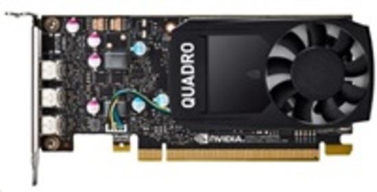 HP NVIDIA Quadro P400 2GB Kit w/2 Adapters, 1ME43AA