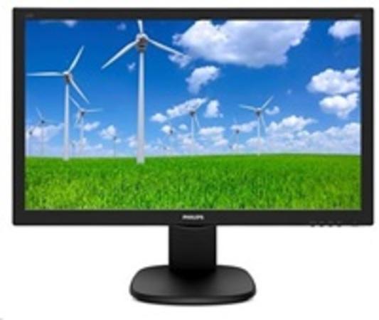 "Philips LCD 243S5LHMB 23,6""wide/1920x1080/1ms/10mil:1/250cd/VGA/HDMI/repro/pivot, 243S5LHMB/00"