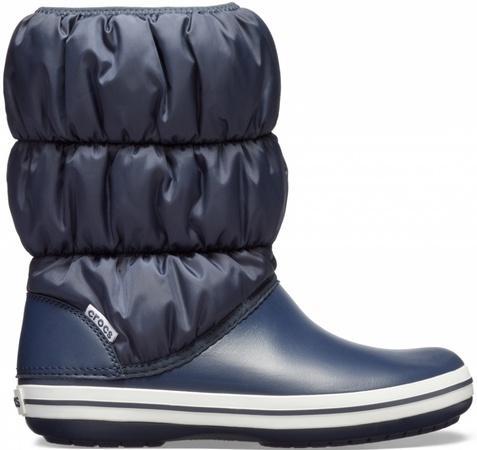 Crocs Winter Puff Boot Women 37-38 (M5/W7) / Navy/Navy