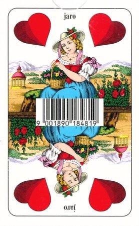 Hrací karty Mariáš - Dvouhlavé karty, PIATNIK