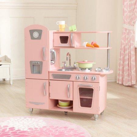 KIDKRAFT Dřevěná kuchyňka Vintage - růžová