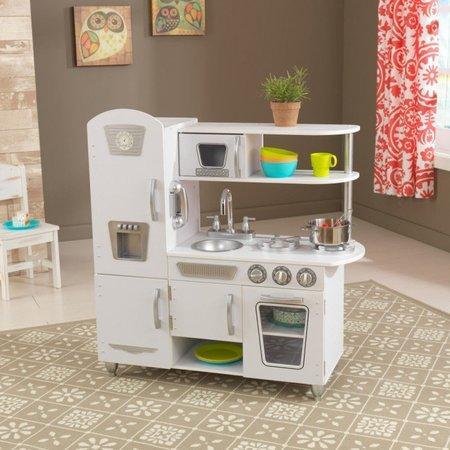 KIDKRAFT Dřevěná kuchyňka Vintage - bílá