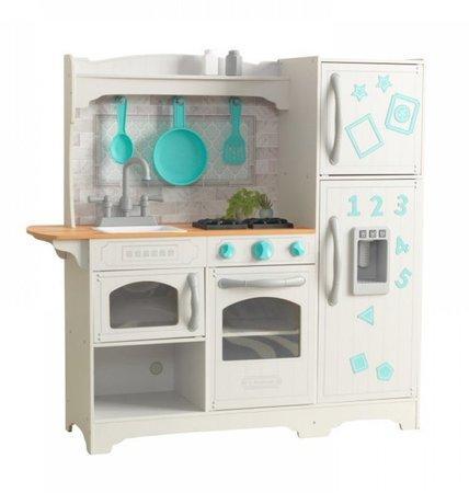 KIDKRAFT Dřevěná kuchyňka Countryside - bílá