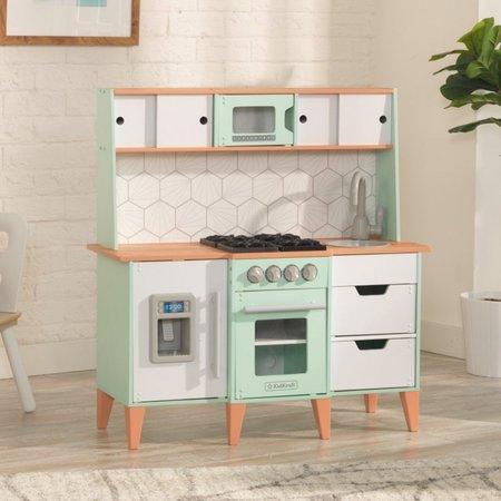 KIDKRAFT Dřevěná kuchyňka Mid-Century