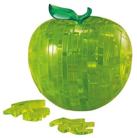 HCM KINZEL 3D Crystal puzzle Jablko zelené 44 dílků