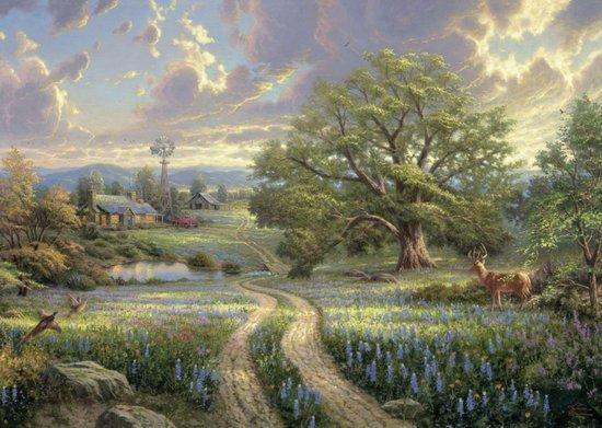 SCHMIDT Puzzle Život na venkově 1000 dílků